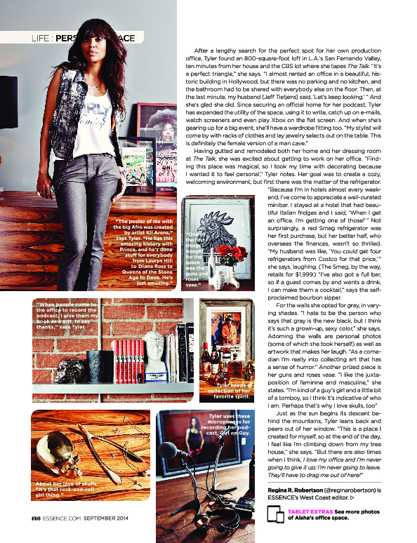 Aisha Tyler in ESSENCE