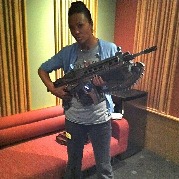 Aisha Tyler gamer