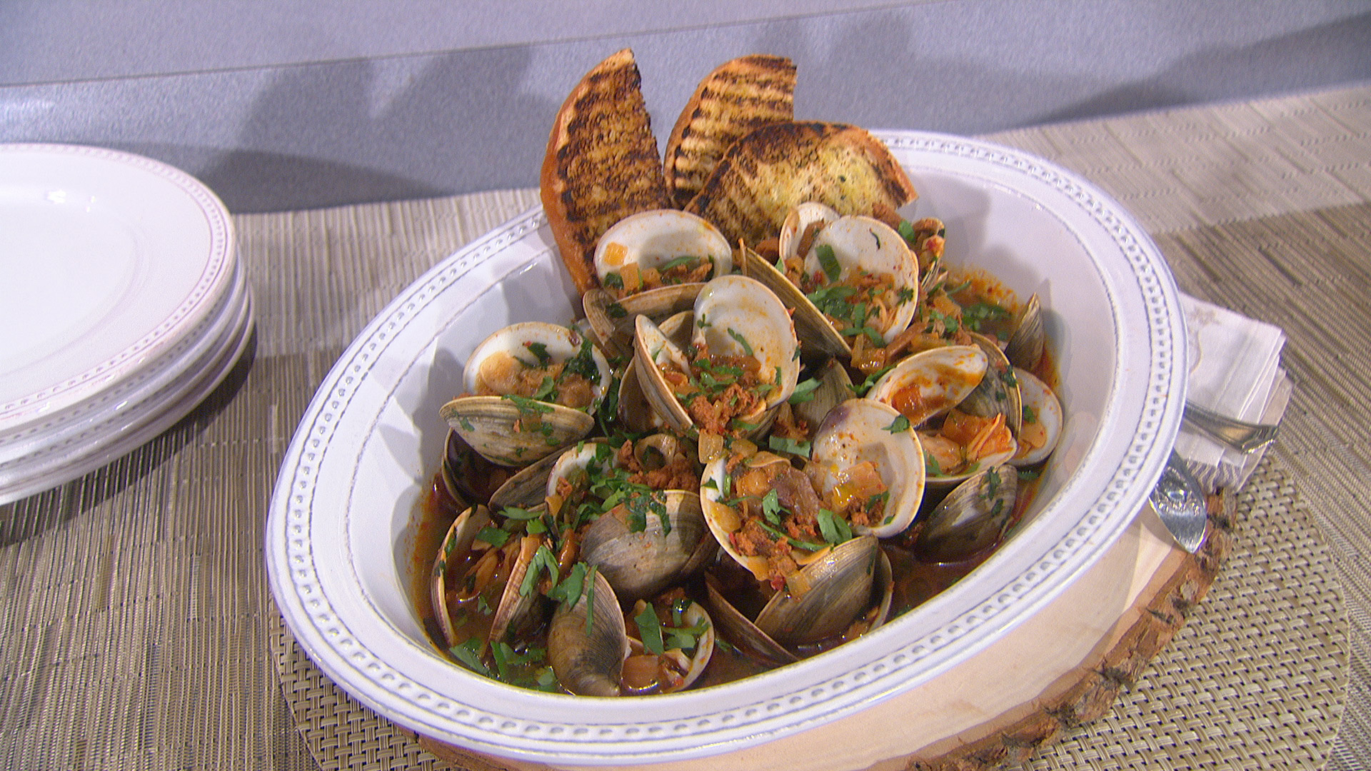Spicy Drunken Clams