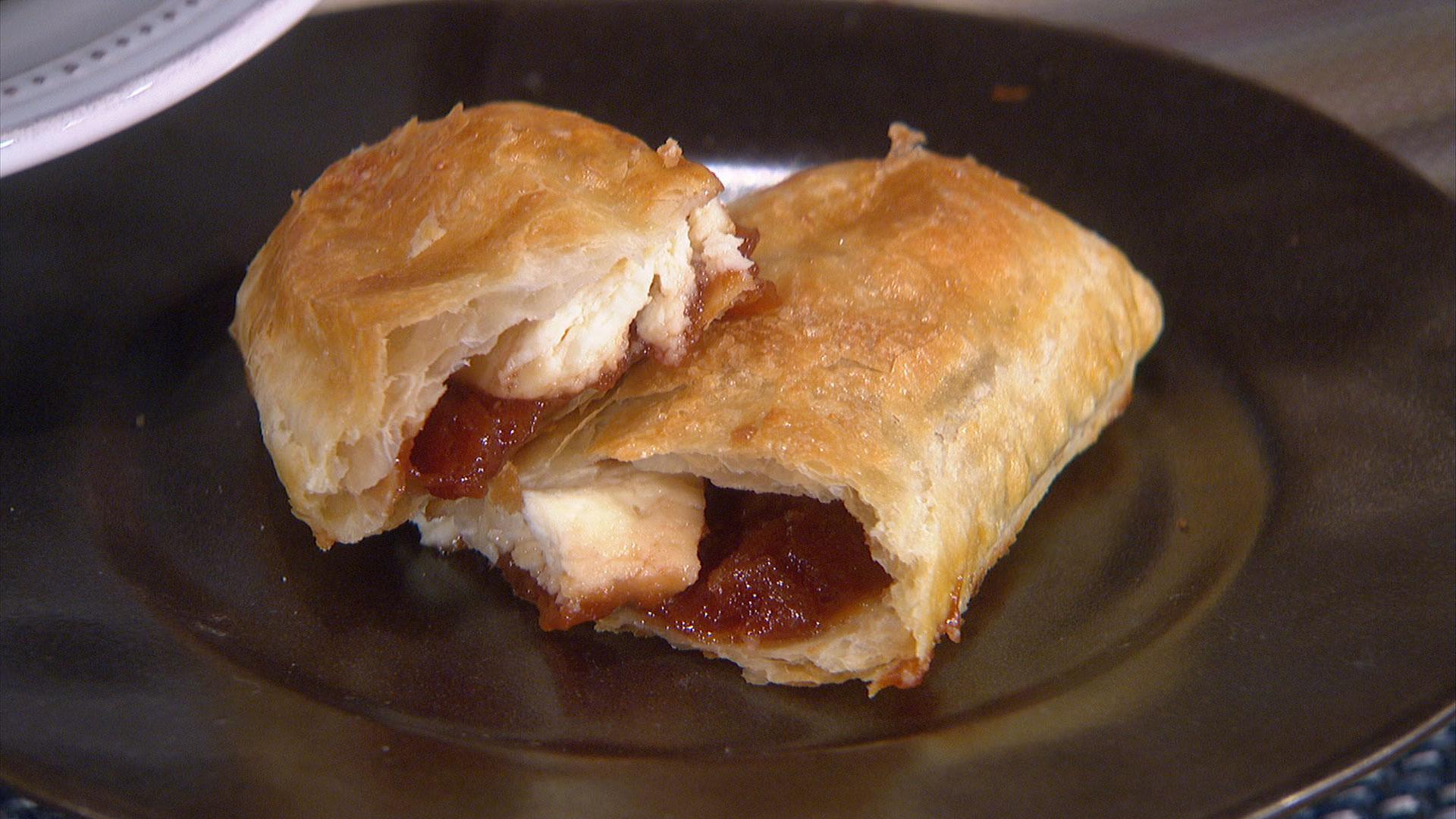 Guava And Cream Cheese Pastry Recipe — Dishmaps