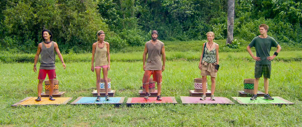 Survivor Cagayan Stats The Final Five