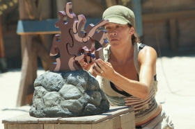 Laura M — Survivor: Blood vs. Water (Photo: CBS)