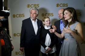 The New Stars Of CBS Make Their Debut On The Red Carpet