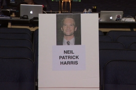 People\'s Choice Awards Seat Cards