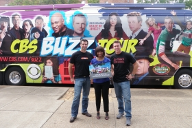 CBS Buzz Bus Rolls into Nashville