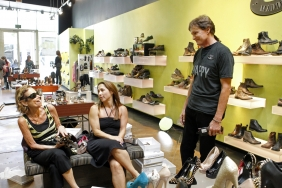 Bruce Jenner Selling Shoes