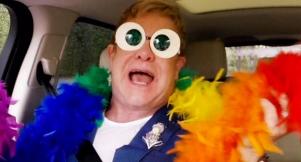 Elton John's Most Killer Dance Moves In Carpool Karaoke