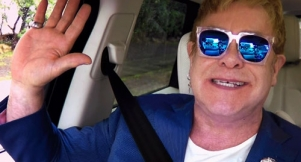 Elton Wants You To Rewatch All The Carpool Karaokes