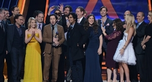 Video: The Big Bang Theory Wins Big