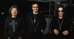 Video: Black Sabbath Behind The Scenes