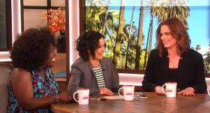 Actress Emily Deschanel Dishes On Motherhood