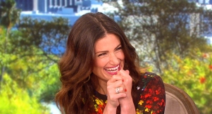 Idina Menzel Admits to 'Wicked' Crush on Matt Damon