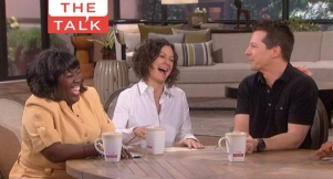 "Video: Sean Hayes ""Tables"" The Talk!"