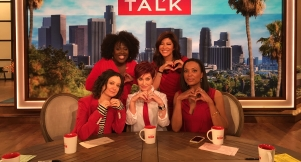 The Talk Hosts Support National Wear Red Day