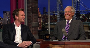 Video: Neil Patrick Harris Visits Letterman