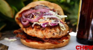 Talk Chow: Chipotle-Bacon Turkey Burger