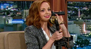 Jayma Mays on The Late Late Show: Exclusive Clip