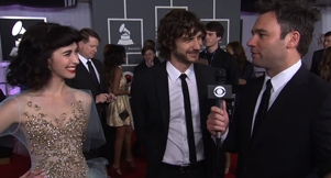 Video: Gotye Red Carpet Interview