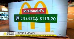 McDonald's menu changes spark a comeback