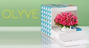 Valentine's Day Flowers from OLYVE: Giveaway