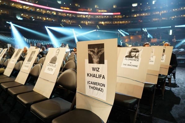 Wiz Khalifa and Florence + The Machine will be sitting cozy next to each other.