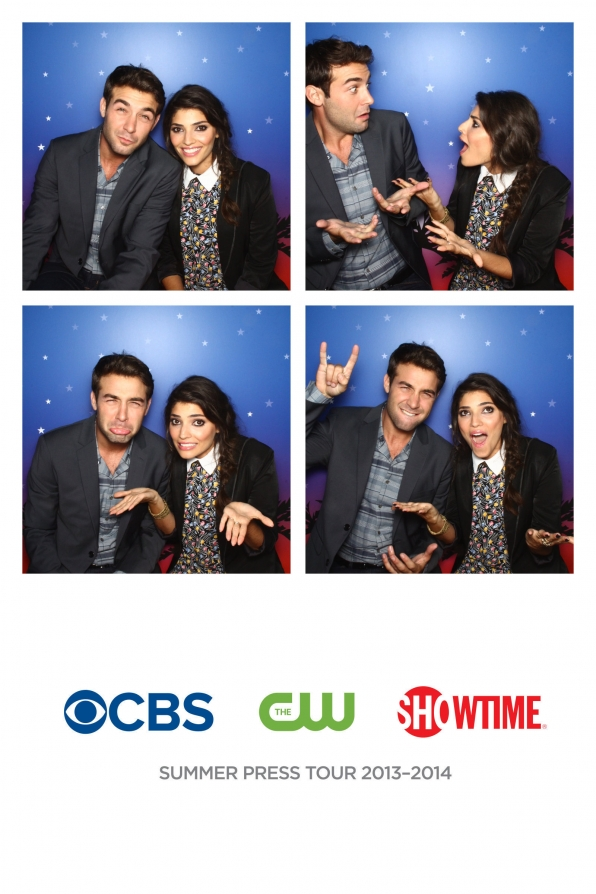 James Wolk & Amanda Setton