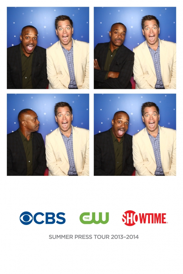 Rocky Carroll & Michael Weatherly