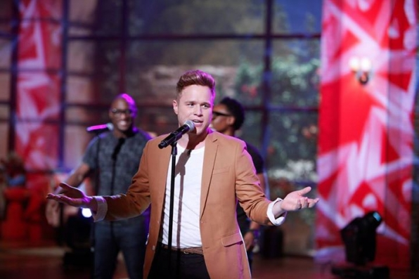 3. Olly Murs - Singer/Songwriter