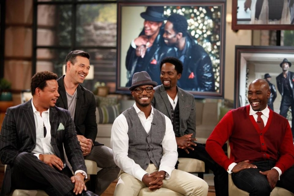 14. Terrence Howard, Eddie Cibrian, Taye Diggs, Harold Perrineau, Morris Chestnut - Actors