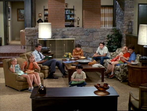 1. <i>The Brady Bunch's</i> couch