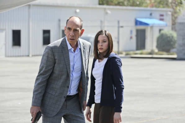 Miguel Ferrer as NCIS Assistant Director Owen Granger and Malese Jow as Jennifer Kim