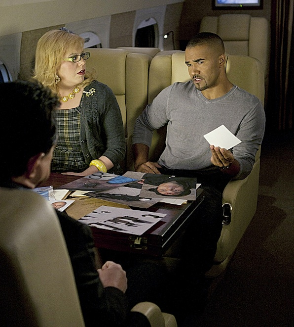 Morgan and Garcia (Criminal Minds)