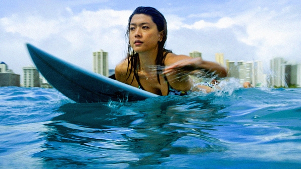 3. As Kono Kalakaua, Park is a bonafide surfing pro