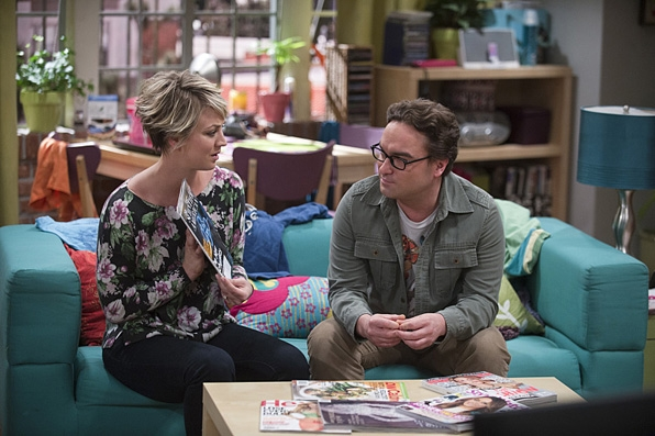 3. Penny's couch on <i>The Big Bang Theory</i>