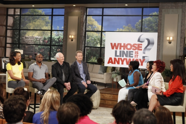 23. Wayne Brady, Colin Mochrie and Ryan Stiles - Whose Line Is It Anyway