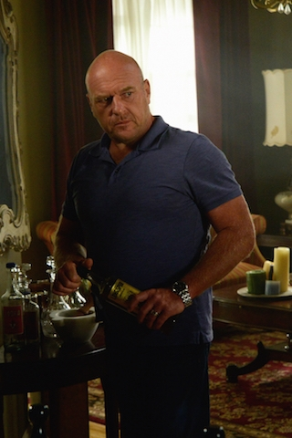 "Dean Norris as James ""Big Jim"" Rennie."
