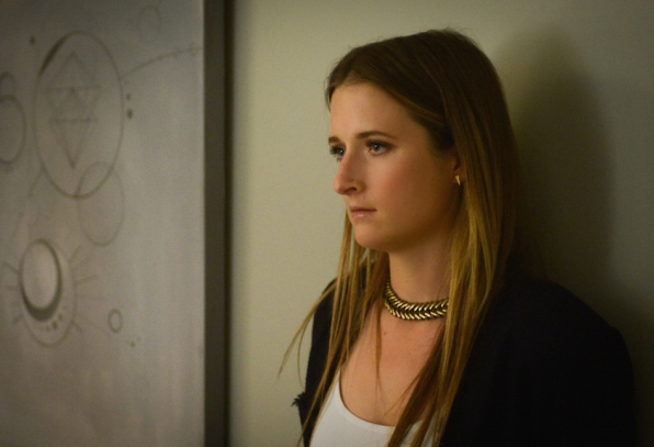 Grace Gummer as Julie Gelineau.