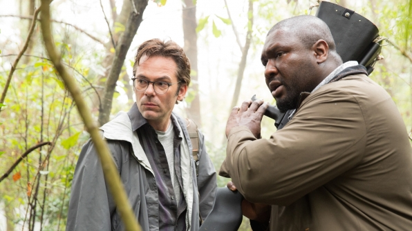 Billy Burke as Mitch Morgan and Nonso Anozie as Abraham Kenyatta.