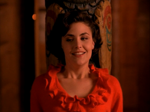 Main cast of characters to care about: Audrey Horne