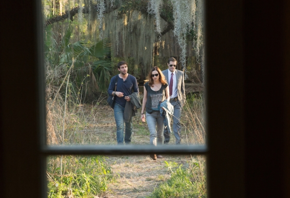 James Wolk as Jackson Oz, Geoff Stults as Agent Ben Shaffer, and Kristen Connolly as Jamie Campbell.