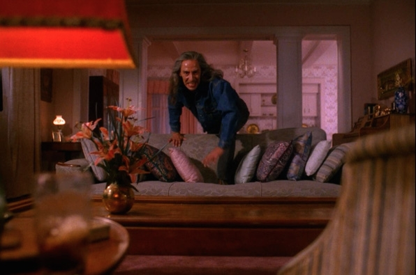 6. This <i>Twin Peaks</i> couch
