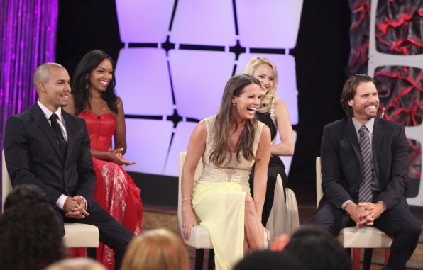 28. Bryton James, Mishael Morgan, Melissa Claire Egan, Hunter King and Joshua Morrow - The Young and the Restless