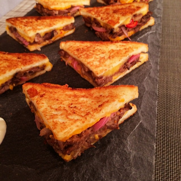 7. Short Rib Grilled Cheese - Chef Jeff Mauro