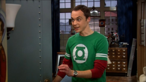 8. Green Lantern Athletic Stripe