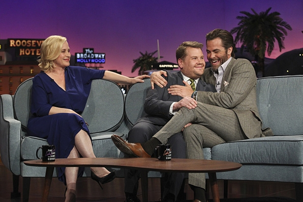 8. <i>The Late Late Show with James Corden</i> couch