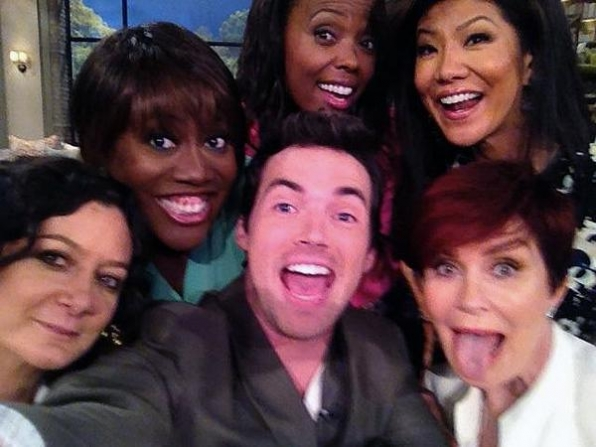 61. Sara Gilbert, Sheryl Underwood, Aisha Tyler, Julie Chen and Sharon Osbourne - The Talk