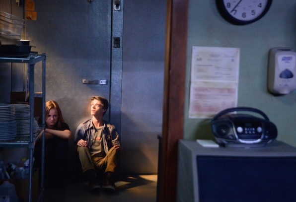 Colin Ford as Joe McAlister and Mackenzie Lintz as Norrie Calvert-Hill.