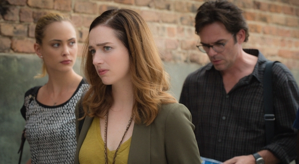 Nora Arnezeder as Chloe Tousignant, Kristen Connolly as Jamie Campbell, and Billy Burke as Mitch Morgan.