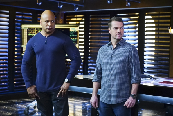 LL COOL J as Special Agent Sam Hanna and Chris O'Donnell as Special Agent G. Callen