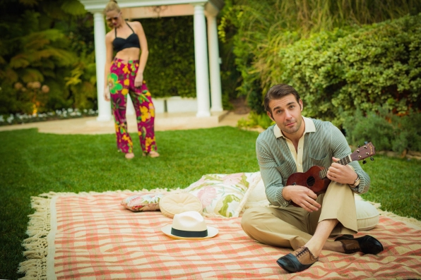 James Wolk, especially when he shares his musical talents
